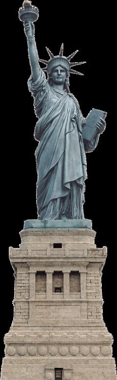 statueofliberty newyork statue monument usa freetoedit