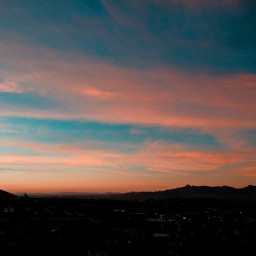 sunrise sky clouds dawn horizon view sunday autumn october2020 home myphotography
