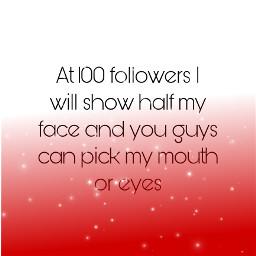 100 followers freetoedit