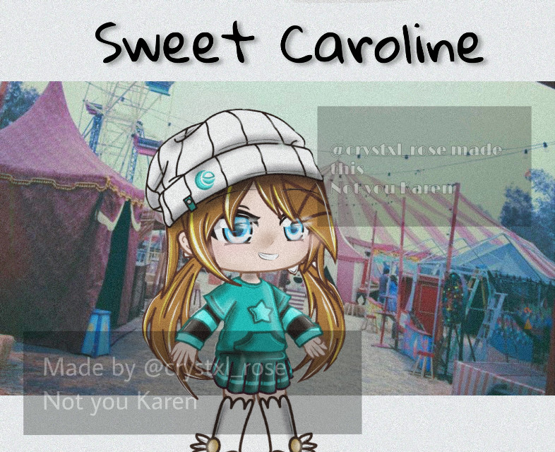"~ 🎵 𝚠𝚎𝚕𝚌𝚘𝚖𝚎 𝚝𝚘 @𝚌𝚛𝚢𝚜𝚝𝚡𝚕_𝚛𝚘𝚜𝚎'𝚜 𝚜𝚙𝚘𝚝𝚒𝚏𝚢 𝚙𝚕𝚊𝚢𝚕𝚒𝚜𝚝 🎵 ~  ᴡᴏᴜʟᴅ ʏᴏᴜ ʟɪᴋᴇ ᴛᴏ listen?  ʏᴇs ɴᴏ {ʏᴇs} ɴᴏ  𝕤𝕠𝕟𝕘 𝕡𝕝𝕒𝕪𝕚𝕟𝕘:  Sweet Caroline - Neil Diamond (?) ""Sweet Caroline, BAM BAM BAM""  _________________________ 🔄      ⏮  ▶️  ⏭     🔄  ~ ~ ~ ~  🎵 ɴᴏᴛᴇꜱ 🎵  👾 ꜰᴏʀ ᴡʜᴏ 👾: @ayius2 reminds me of this it girl 🎧 ᴛʏᴘᴇ 🎧: simple gacha club edit 😈 ᴛɪᴍᴇ 😈: 3:32 pm 🎤 ᴛɪᴍᴇ ᴛᴀᴋᴇɴ 🎤: 1/2 hour 🎆 ᴄᴏʟᴏᴜʀ ᴛʜᴇᴍᴇ🎆 : cyan, blue, green, borwn, yellow, white 🖤 ᴘʀᴏᴜᴅ 🖤: 0/10 🔮 ᴍᴏᴏᴅ 🔮: a bit dissapointed in myself 🎶 ᴄᴏᴍᴍᴇɴᴛꜱ 🎶: Caroline - Caroline is an old soul with plenty of friends and family. She gets average grades, has a couple of good friends and loving parents. She's always been second best to her friends: great grades but not the best, great at volleyball but not the best, great at dancing but not the best. This created her fear of being perfectly average so she's quite an oddball.  💜 ᴠᴇɴᴛ 💜: 2 months only 1 books. 1 week: 1990 dark magick academy, 1880 anne of green gables/enole holmes type thing, among us books- w h y   [taglist]  @olicobusines  @allison_reylo   @-_creepypasta13_-  @i_am_potato-uwu  @baby_rainy  @xx_gacha_stars_xx  @petals_05  @lili_gachalife  @coolest_ofdacool  @emmajellis   @sapphire_artz  @-x_broken_rose_x-  @starbucks_wolfwings  @petiteedits  @white_lavender  @sn0wy_playsuwu  @xx1alpha_wolfxx  @__l0verb0y-_  @_stxrdust_   @lengg_cheng @rainsoar  @billie_crybaby  @uwu_potate  @starchan-  @xxshadow_flamezxx  @miracles_are  @sxge_pxppy  @iloveyou30x0  @just_strawberry  @megan_3007  @what_ever_this_is  @musicalmaryscart  @baby_rainy  @starbucks_wolfwings  @olivia_celloplayer  @pastxl_rxinbow  @xxsohacookiesxx @amberbelike   @eijigoat  @renar0uge  @weeb_co  @hollacethewirdo  @nioria_nightfall  @bangtan_life2020  @gacha_buzze_be   @vhs_flxffyy @-stxrdust- @december_wishes @kiwixgacha @__mccnlight  𝗰𝗼𝗺𝗺𝗲𝗻𝘁 💟 𝘁𝗼 𝗷𝗼𝗶𝗻   𝗰𝗼𝗺𝗺𝗲𝗻𝘁 ☮️ 𝘁𝗼 𝗰𝗵𝗮𝗻𝗴𝗲 𝘆𝗼𝘂𝗿 𝘂𝘀𝗲𝗿 𝗰𝗼𝗺𝗺𝗲𝗻𝘁 ☪️ 𝘁𝗼 𝗹𝗲𝗮𝘃𝗲  ʟᴇᴀᴠɪɴɢ ᴀʟʀᴇᴀᴅʏ?    {ʏᴇs} ɴᴏ    𝓖𝓸𝓸𝓭 𝓑𝔂𝓮! 𝓗𝓸𝓹𝓮 𝓨𝓸𝓾 𝓗𝓪𝓿𝓮 𝓐 𝓝𝓲𝓬𝓮 𝓓𝓪𝔂/𝓝𝓲𝓰𝓱𝓽!  🆃🅰🅶🆂 : #freetoedit #gacha #gachaclu"