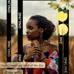 unsplash woman flowers outdoors online frame keepitwild befree nature blacklivesmatter blm trending follow beyourself becreative behappy picsartedit picsart edit photos loveyourself spots circles lysm