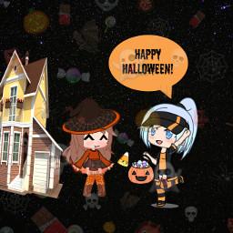 happyhalloween spooky freetoedit ecgachaclubhalloweenparty gachaclubhalloweenparty