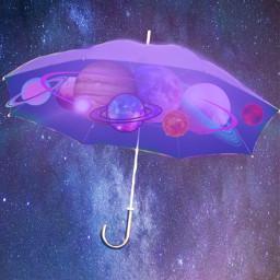 freetoedit umbrella space planets madebyme vote4meplz mlbforever ircundertheumbrella undertheumbrella