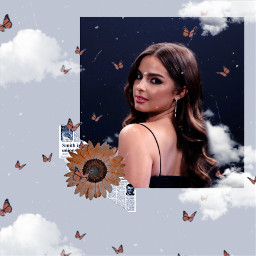 addisonrae flowers butterflies clouds awesome nice picsart heypicsart freetoedit