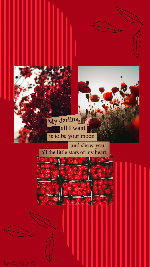#wallpaper #red