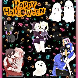 sasusaku halloween inoyamanaka freetoedit