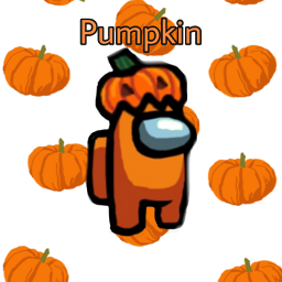 fun spooky haloween 2020 pumpkins party amongus skin rare common letsparty whoopwhoop freetoedit srcpumpkins