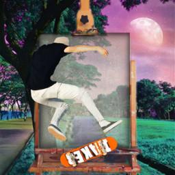 skater painting freetoedit ircinnerartist innerartist