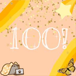 100followers sohappy thankyousomuch yellow yellowaesthetic freetoedit