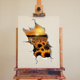summer challenge canvas art artist sun sunflower vote create edit remix remixthis freetoedit ircinnerartist innerartist