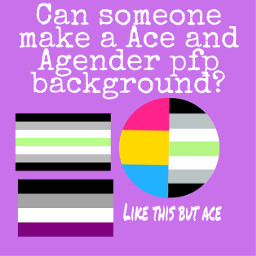 pfp asexual agender freetoedit
