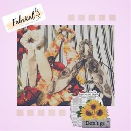 fabrical sewing desinging fabric wow followmeplease cute clothing hairtie scrunchie creativity freetoedit