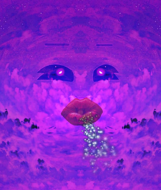 #blowing #purpleaesthetic #purpleclouds #eyes #wind #fairydust