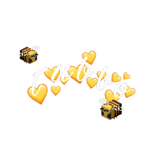 tubbo tubboedit dreamteam edit yellow pastel cute minecraft bee heart crown freetoedit