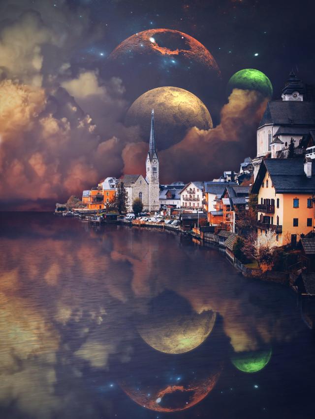 #myedit #space #city #galaxy #planet #edit
