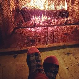 fireplace colorful photography myoriginalphoto samsungphotography socks sockselfie footselfie fire freetoedit