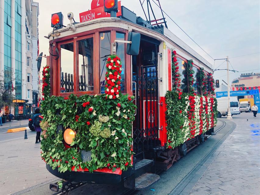 #Taksim #Istanbul #Turkiye #tramway  #cumhuriyetbayramı #republicday2020