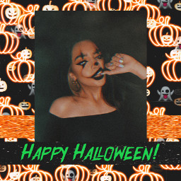 replay halloween halloweenedit insertphoto freetoedit october spooky pumpkin mrssge wallpaper wallpapers background backgrounds halloweenmakeup edit madewithpicsart picsartedit tumblr happyhalloween