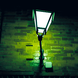 light street lamp lamplight lightingthedark lamppost lampara streetphotography streetphoto rock rocks wall photography journey holiday cold dark darkness horror terrorific terror green greenlight freetoedit