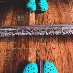 crocs aesthetic qotd comment dramatic mirror freetoedit
