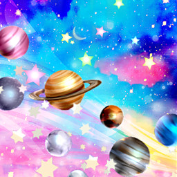 freetoedit glitter sparkle galaxy sky stars planets universe cosmos space dream magical colorful art glow night shimmer overlay background wallpaper