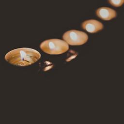 lightsinthedark indoors candles tealights flames freetoedit
