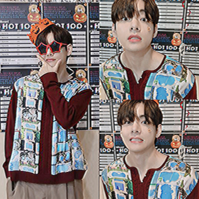 <- ao lado♡ #kimtaehyung #bts #halloween