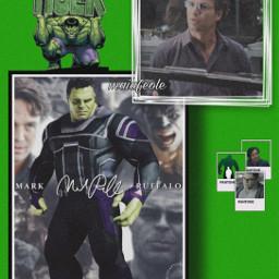 freetoedit brucebanner hulk green avengers