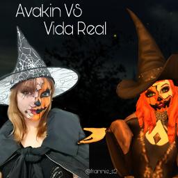 bruxa witch abobora maquiagem makeup pumpkin halloween diadasbruxas frannies2 avakinlife avakinvsvidareal avakinvsreallife