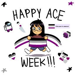 asexual aceweek ace freetoedit