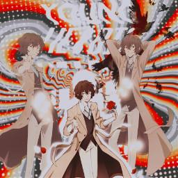 anime dazaiosamu animeedit bungoustraydogs bungostraydogs bsd