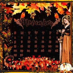 myedit novembercalendar novemberchallenge fallgirl fall fallcolors leaves birds pumkin violin freetoedit srcnovembercalendar