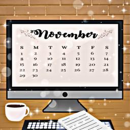 wishmeluck freetoedit srcnovembercalendar novembercalendar