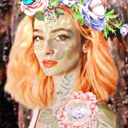 freetoedit flowers girl model butterfly picsart picsartgirl picsartphoto like picsarteffects picsartedit picartstickers