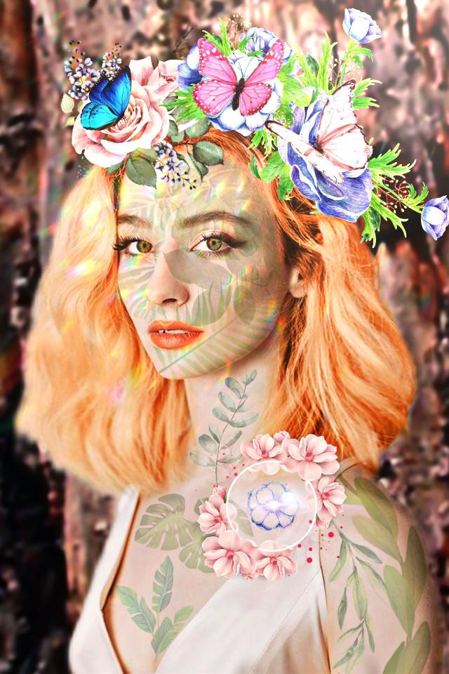 #freetoedit #flowers #girl #model #butterfly @picsart #picsart #picsartgirl #picsartphoto #like #picsarteffects #picsartedit #picartstickers