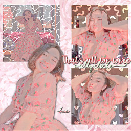 mxmtoon shape edit shapeedit maia pink strawberrydress