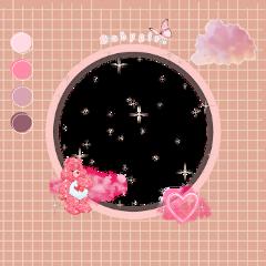 freetoedit aesthetic aestheticframe aestheticbackground circle pink pinkaesthetic square pinkcircle