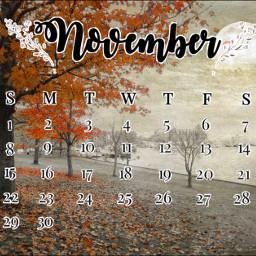 november welcomenovember november2020 month freetoedit srcnovembercalendar novembercalendar