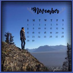 freetoedit calendar month november nature srcnovembercalendar