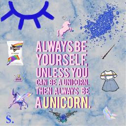 s create unicorn rainbow blue virgo septemberbaby doritos self freetoedit