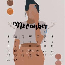 septembercalendar september september2020 septiembre brown brownaesthetic vintage freeedit freetoedit srcnovembercalendar novembercalendar