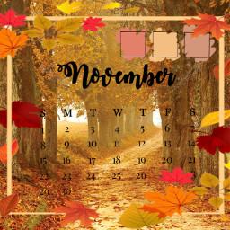 november calender2020 calender freetoedit