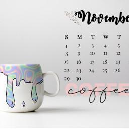 cofee calendar 2020 november freetoedit srcnovembercalendar novembercalendar