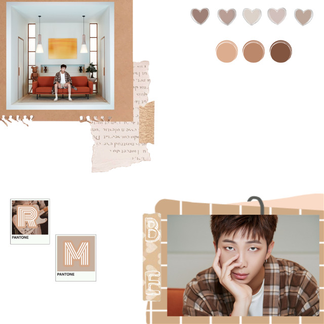 🍩🍩🍩🍩🍩🍩🍩🍩🍩🍩🍩🍩🍩🍩🍩🍩🍩  °  °   °   『 Colors Used: Tan, Peach, White 』  『 Apss Used: PicsArt, Weverse( photo ) 』  『 Idol: RM, BTS 』  『 Aesthetic: Tan, Paper 』  『 Random Hashtags: #bts_be #btsrmedits #rm_bts #handsomeness 』  『 Taglist 』 💛- Atiny @sanieworld-    『 Random Taglist 』 @thelastsuga  @kpop-posts  @silverbell_  @versacetae_  @pasteljin  @trixflower  @jimin_mochi_edits  @musicguru07  @myeong_suk-  @tiffany-vxlgs  @mary___kookie  @-taekxxk-  ( sorry to those that don't want to be tagged😞 )  『 Notes From Author/Creator: Okay, I swear, today and eveyday until November 8, I will keep dying and coming back from my grave☠️ THESE PICTURES GOT ME- my blood pressure is going up right now! Such handsomeness just like the others😭 anyway, how are you guys? I kind of feel like this edit was too plain compared to the others, but Namjoon's handsomeness makes it shine\(//∇//)\ Now I have to go do school work and stop procrasinating. Byeee╰(*´︶`*)╯♡  』   °  °  °   🍩🍩🍩🍩🍩🍩🍩🍩🍩🍩🍩🍩🍩🍩🍩🍩🍩