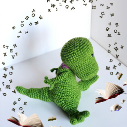 book crochet interesting toy freetoedit srcflyingbooks flyingbooks