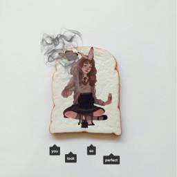 freetoedit challenge hermionegranger hermioneedit cauldron snape smoke toast bread hp harrypotteredit ircmyfavoritetoast myfavoritetoast