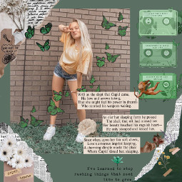 aesthetic newpaper magazine cute green butterflies pressleyhosbach pressley dancer dance dancemoms dancemomsseason8 freetoedit