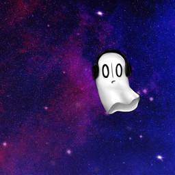 napstablook undertale galaxywallpaper galaxy freetoedit