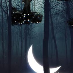 nuvole nuvolenere moon luna maleficent freetoedit srcblackclouds blackclouds