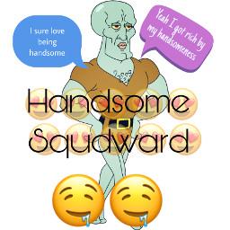 handsomesquidward freetoedit